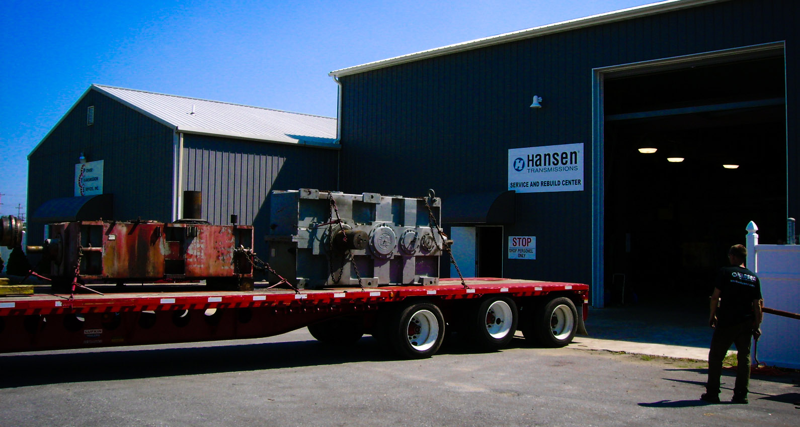 Power Transmission Services Gearbox Repair Facilities