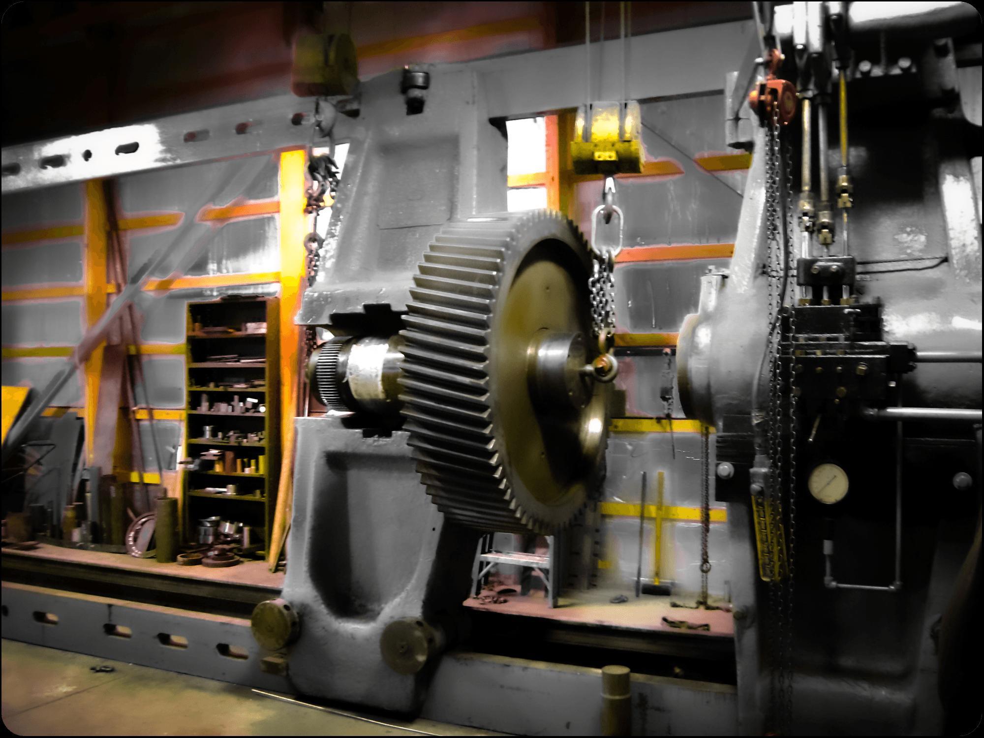 Power Transmission Services 600 Horizontal Press