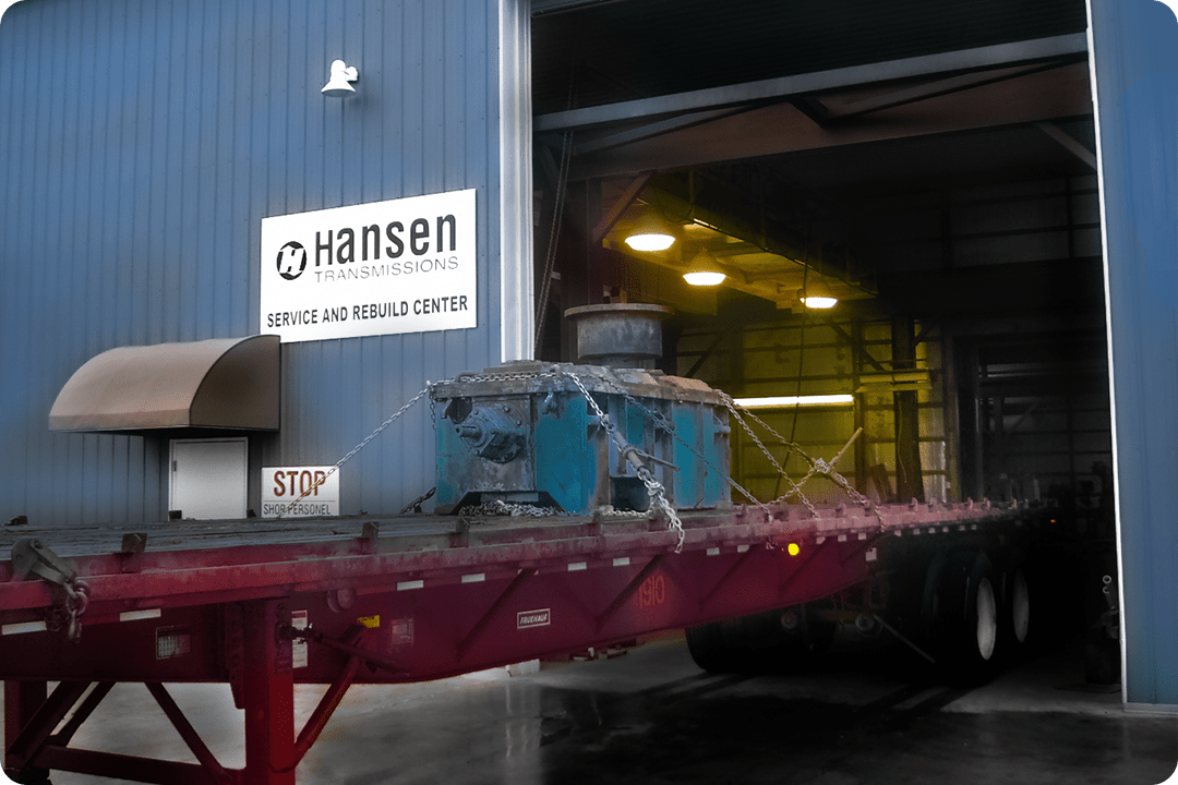 hansen-gearbox-into-service-bay-at-power-transmission-services